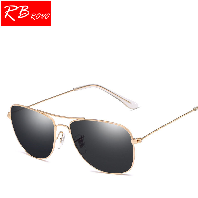 RBROVO New Pilot Sunglasses Women/Men Top Brand Designer Ocean Lens Sun Glasses For Women Retro Outdoor Driving Oculos De Sol
