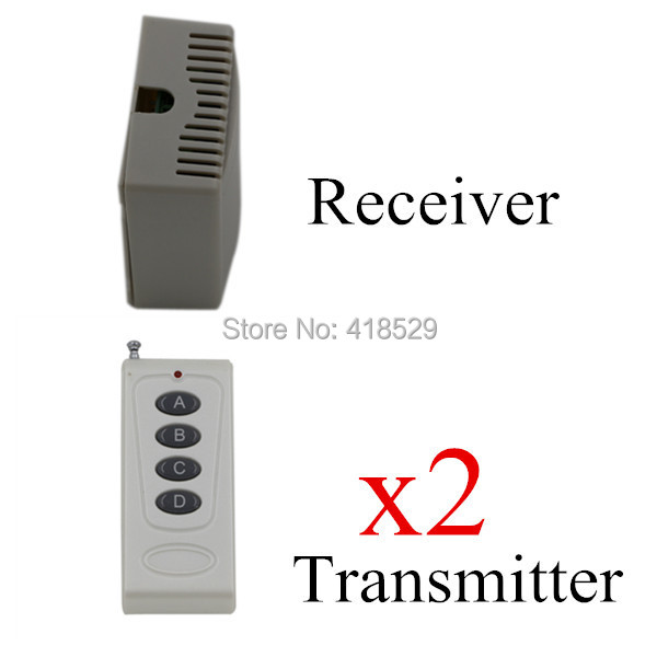 Wireless RF Remote Control Light Switch,150m Long Distance DC12V High Quality 4 Channel Digital Remote Control Switch SKU: 5036 ifree fc 368m 3 channel digital control switch white grey
