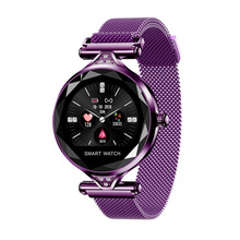 MATEYOU high definition smartwatch female bracelet heart rate multi-sport mode smart watch