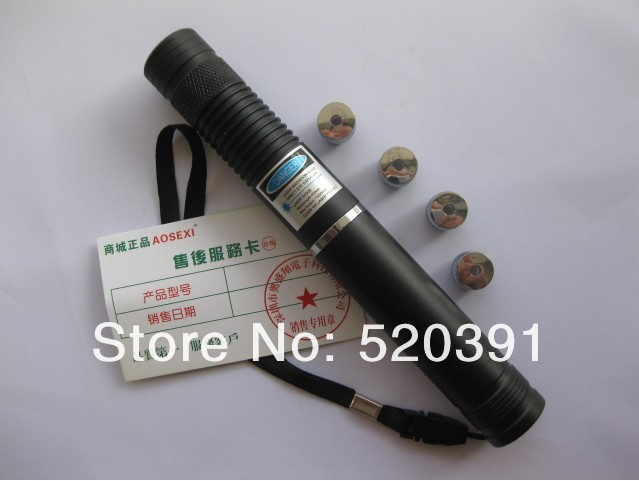 high power Blue Laser Pointers 20000mw/20W 450nm & adjustable burning match/dry wood/cigarettes+5 caps+glasses+charger+gift box