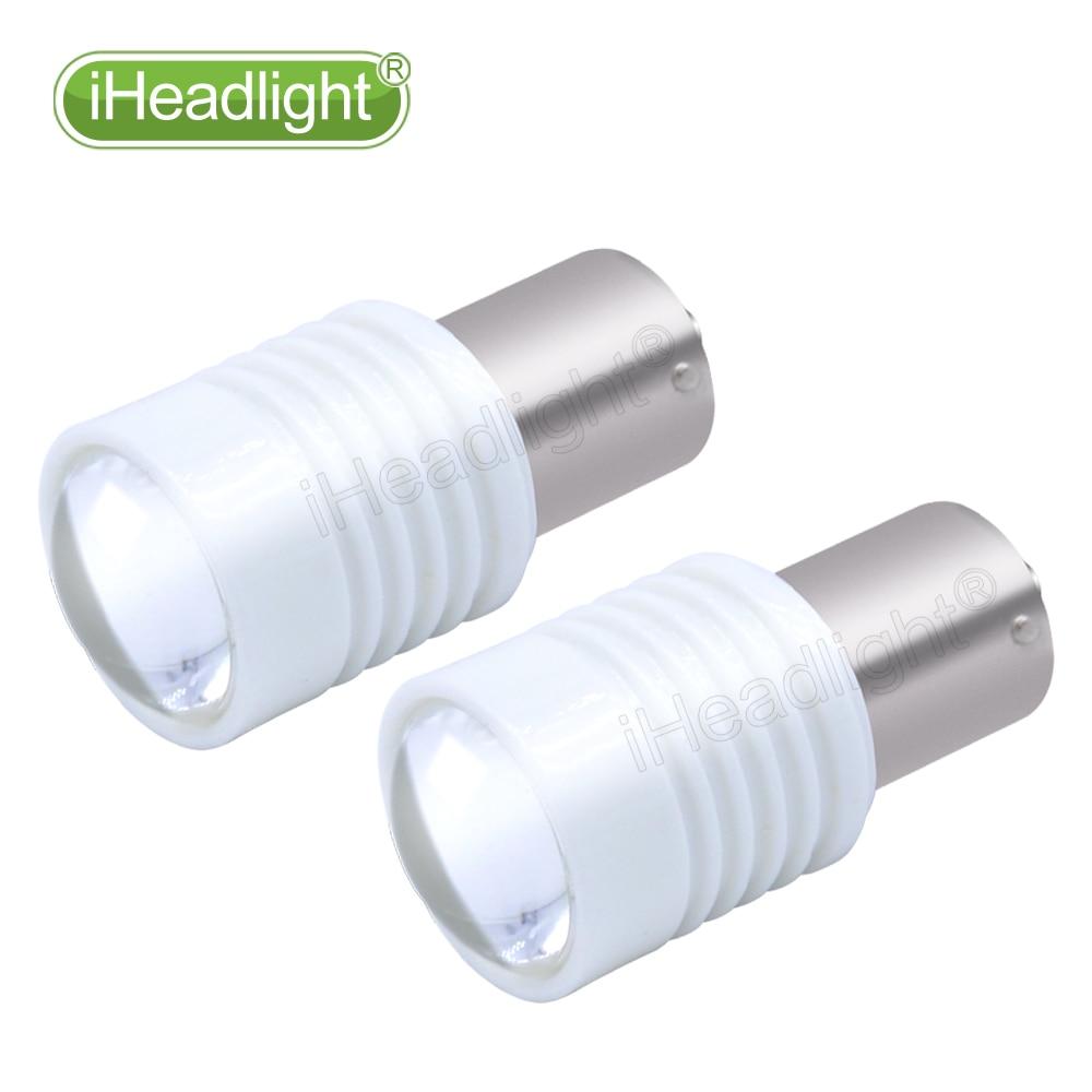 2x1156 3030 P21W 6 işıqlı Ağ İşıqlar 12V 24V 6W Güclü - Avtomobil işıqları - Fotoqrafiya 4