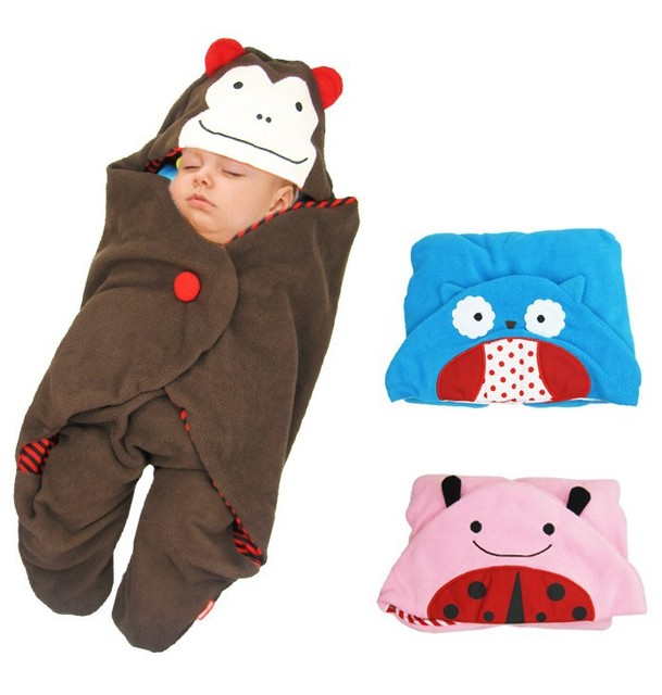 [Bosudhsou] Free shipping Baby Sleeping Bag Baby Stroller Baby Blankets Baby Sleeping Bag Cartoon Children Clothing