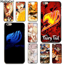 MaiYaCa Anime Manga Fairy Tail Luxe High-end telefoon Accessoires Case voor Apple iphone 11 pro 8 7 66S plus X 5S SE XS XR XS MAX(China)