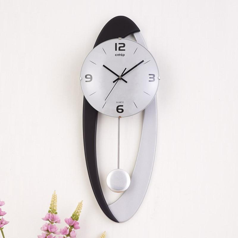 Grote wandklok Saat Reloj klok Duvar Saati digitale wandklokken - Huisdecoratie - Foto 5