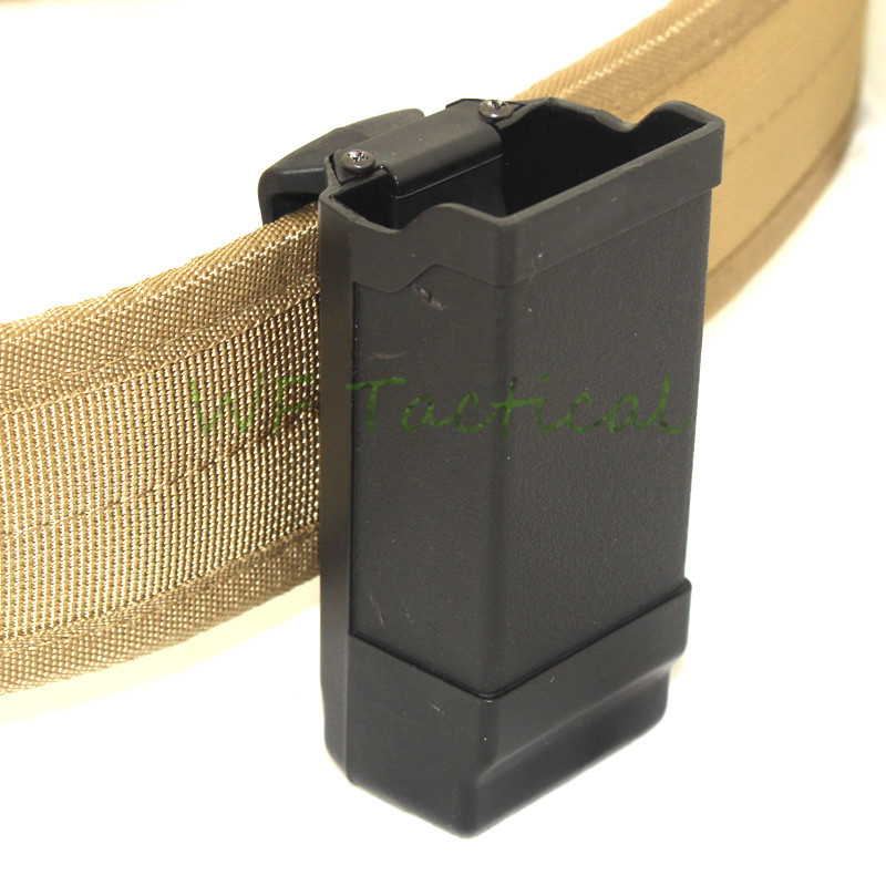 New Quick Draw Polymer Single Magazine Pouch Case For GL 9mm .40 Cal Mags Pistol Cartridge Clip Holder Duty Belt Box image