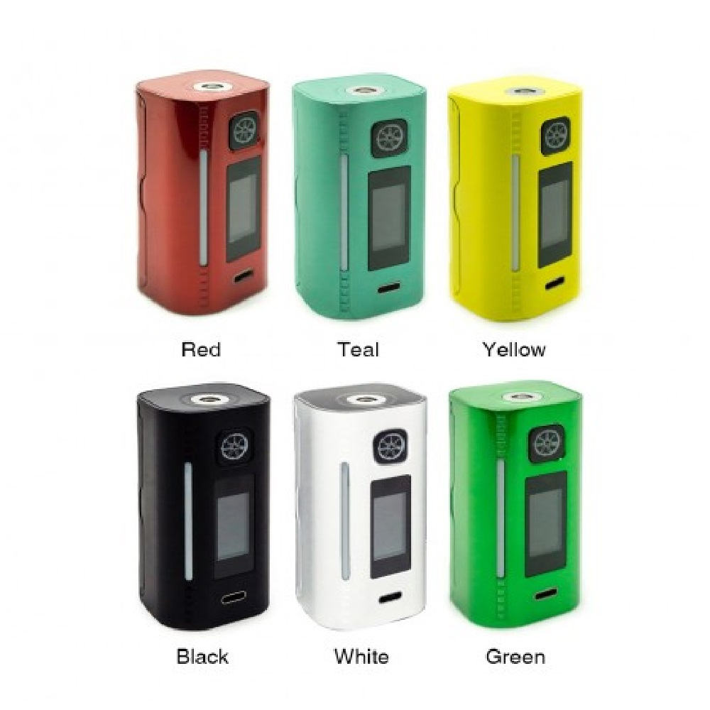 Heavengifts Asmodus Lustro 200W Touch Screen TC Box MOD Power by 18650 Battery Vape Mod Box