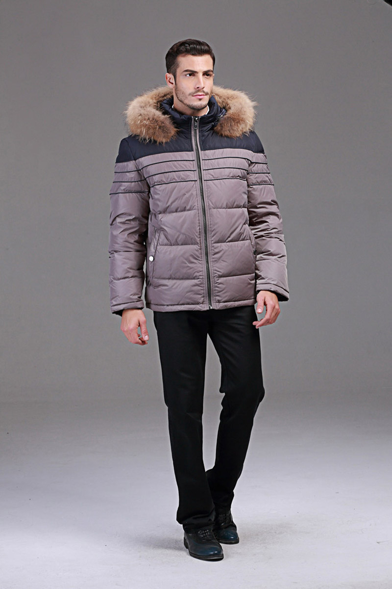 Winter donsjack mannen Europa en VS min 40 graden warme eend donsjack - Herenkleding - Foto 6