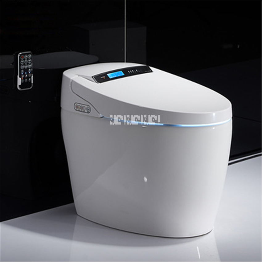X6 Smart Toilet  Manual Flip Instant Hot Type Without Water Tank One-piece Toilet Remote Control Smart Ceramic Toilet 220V 1KW
