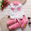 Baby Girl Clothes Cotton Shirt & Pants Set Baby Clothing Set Newborn Girls Clothes 0-24 Months Sets