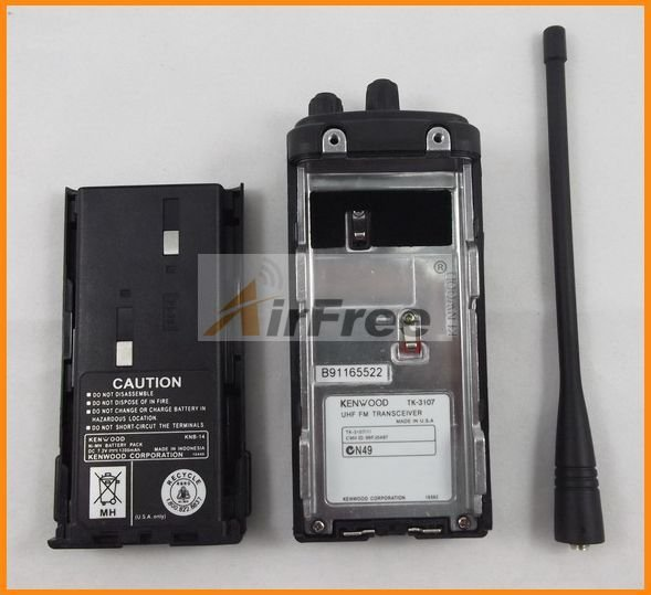 Holiday Sale FREE Shipping Christmas GIFT TK-3107 Handheld UHF Radio Transceiver