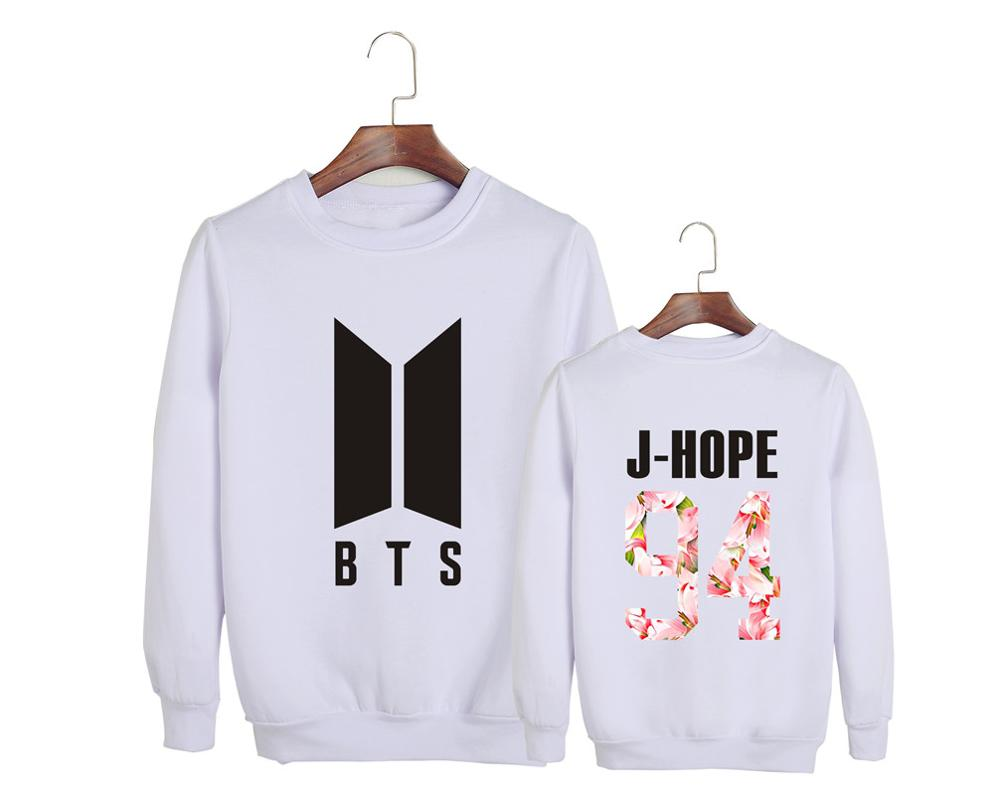 5c4c1bc0b [3] BTS Bangtan Boys J HOPE Album LOVE YOURSELF Sweatshirt Hoodies JN122-in  Hoodies & Sweatshirts from Women's Clothing & Accessories