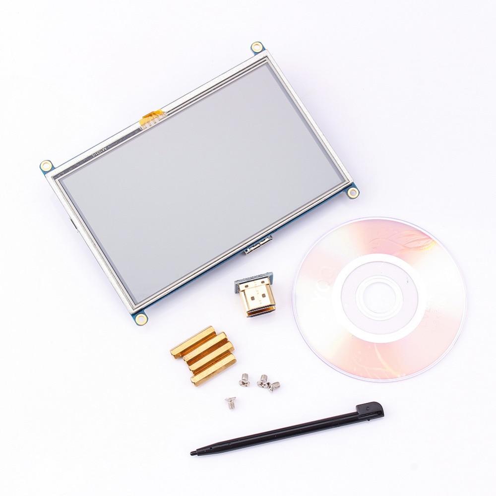 "5 Zoll 800x480 Touch Lcd Bildschirm 5 ""display Mini Pc Für Raspberry Pi Cubieboard Marsboard"
