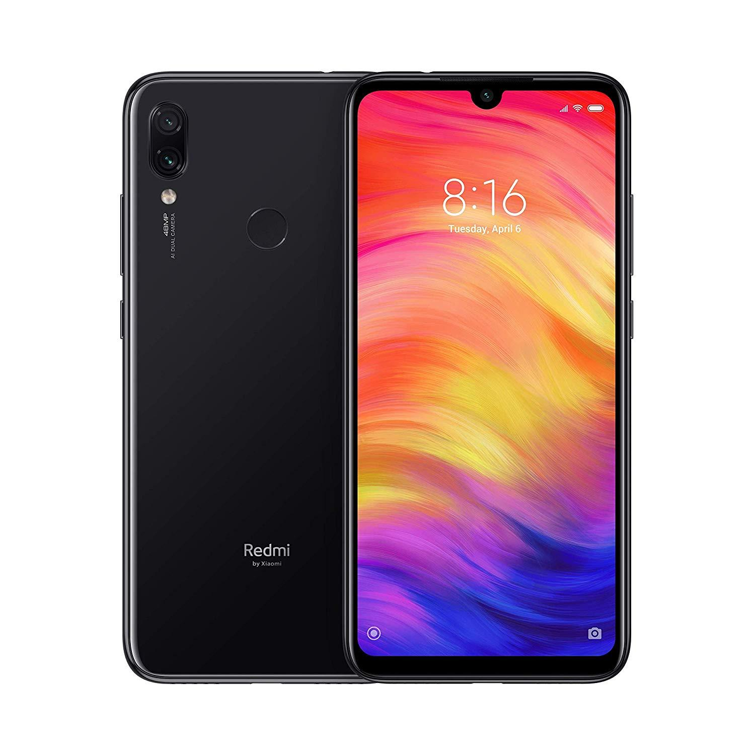 Legend Coupon Xiaomi-Note-Redmi-7-Global-Version-Black-Color-Black-Band-4G-Dual-SIM-internal-32-hard Smart phone
