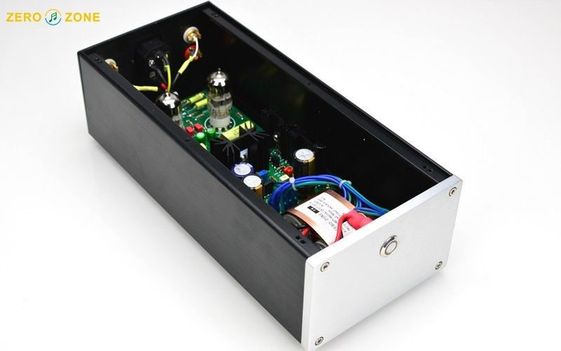 ZEROZONE PRT-09A EH 6922 Tube buffer preamplifier base on Musical Fidelity X-10D L8-18 musical fidelity ams100 silver