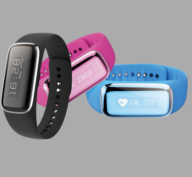 Desay Fitband  Smartwatch Support Time Pedometer Find Phone Heart Rate Vibration Wake-up Waterproof 3D G-sensor Bluetooth 4.0