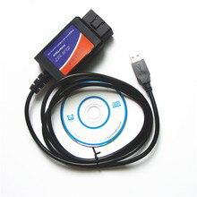Lo nuevo FTDI usb 1.5 escáner de Diagnóstico ELM327 ELM 327 USB 1.5 Escáner de Diagnóstico Envío Gratis