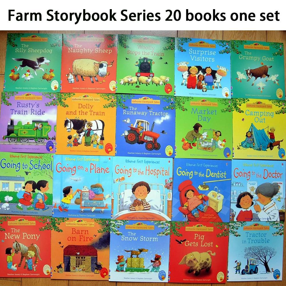 20 books/set 15x15cm Picture Bo