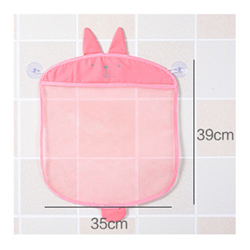 Storage Bags Organizer Cartoon Bath Mesh Toys Hanging Or Suck Basket Kids Net Animal Mesh Beach Storage Bag Children Gift G50 3