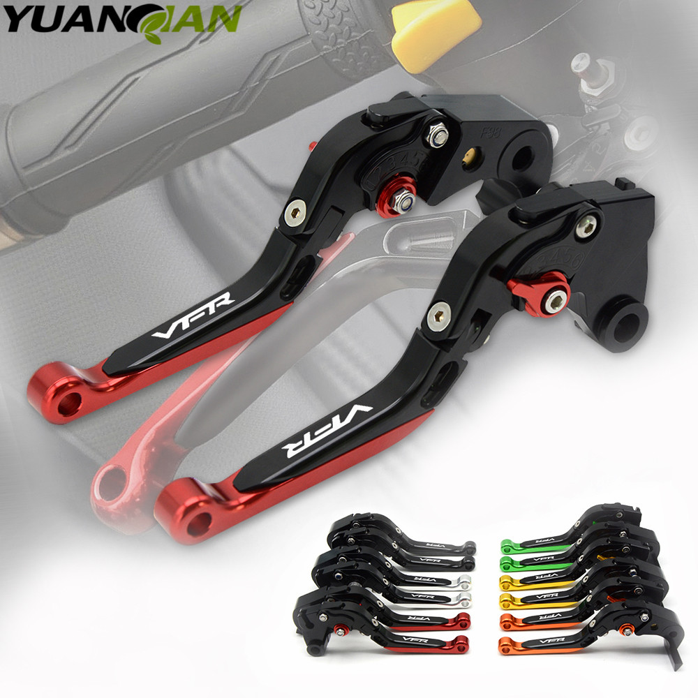 Motorcycle Brakes For Honda VFR 800 800F VFR800 VFR800F 2002 2003 2004 2005 2006 2007 2008 2009 2010-2016 CNC Brake Clutch Lever cawanerl car 5630 smd led bulb interior led kit package white for chevrolet trailblazer 2002 2003 2004 2005 2007 2008 2009