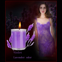 Massage Candle Body Waist SM Sex Toy For Adult Relaxation Sex Candles Low Temperature Candle Couple Flirting Valentine Day gift