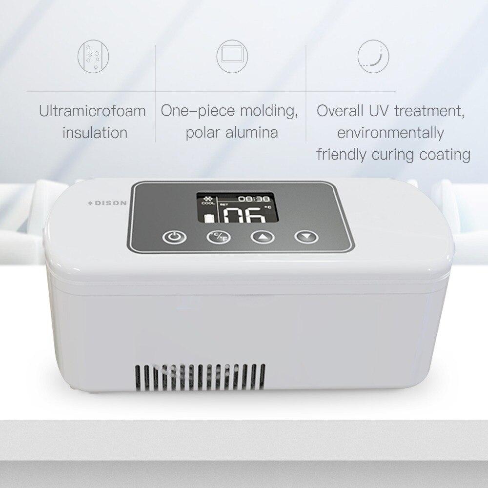 Mini Réfrigérateur Insuline Refroidisseur Sac Dison 2-8 Degré Portable Glacière Diabète Sac Mini Réfrigérateur