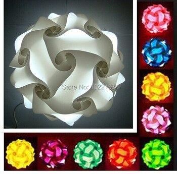 מנורת פאזל אורות IQ חידת IQ משלוח חינם סיטונאי Sml גודל 300 יחידות להרבה 12 צבעים עבור בחירה