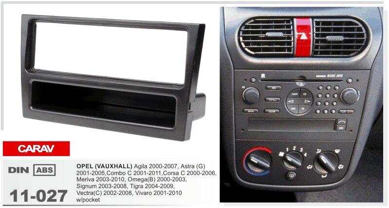 carav 11 027 car stereo radio fascia plate panel frame kit. Black Bedroom Furniture Sets. Home Design Ideas