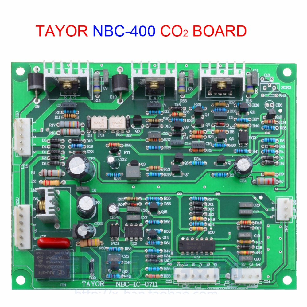 Carte pcb Tayor NBC-400 pour machine de soudage au co2Carte pcb Tayor NBC-400 pour machine de soudage au co2