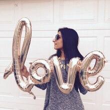 Nafukovací dekorační nápis LOVE vhodný na oslavy