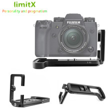 Soporte de placa L de liberación rápida para cámara Digital Fuji Fujifilm X H1 XH1, cabezal de trípode para Benro Arca Swiss