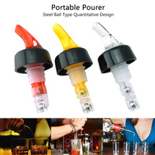 Quantitative Measure Flow Pourer Liquor Spirit Nip Wine Cocktail Dispenser Tool