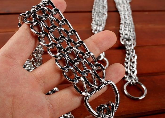 Dog Collars & Leashes Big dogs Pet chain dog collar Tibetan mastiff dog chain samoyeds your golden retriever stainless steel