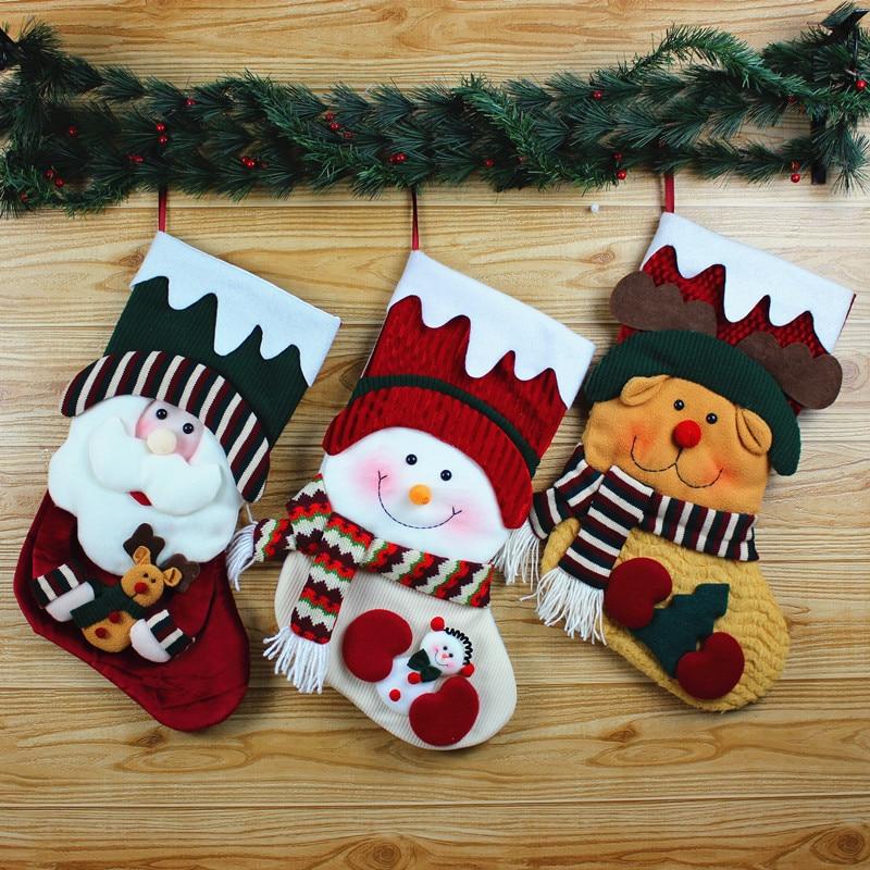 Shop Decorations For Christmas: Christmas Ornaments Christmas Decorations Candy Bag Santa
