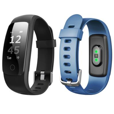 ID107Plus Smart Wristband Smart band Heart Rate Monitor Smart Bracelet Fitness Tracker Weather SMS Call SNS