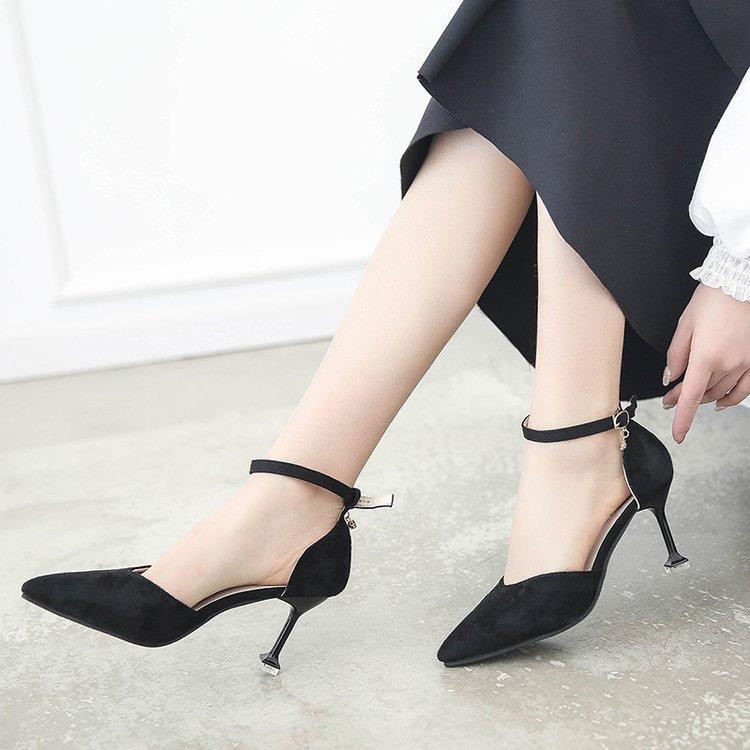 Tamaño Tobillo Tacón Gran Las Y 2019 Mostrar Black Moda Alto Mujeres Nuevo Modelo Sexy Correa Alta plata Simple Zapatos rojo De wvztqP