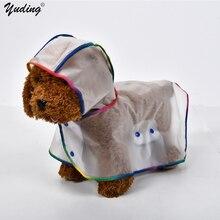 Transparent Dog Raincoat