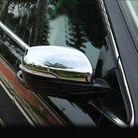 Für Ford Für Rand 2015 Auto Exterior Zubehör Chrom Tür Rückspiegel Abdeckung-in Chrom-Styling aus Kraftfahrzeuge und Motorräder bei