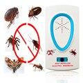 2016 Útil de Alta Qualidade EU Plug Elétrica Ultrasonic Pest Repeller para Lustrating Rato Bug Mosquito Insect Roedor Controle
