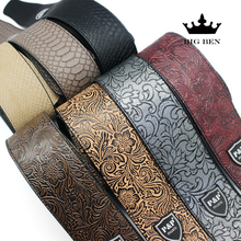 freight free electric guitar PU leather belt straps acoustic guitar bass strap