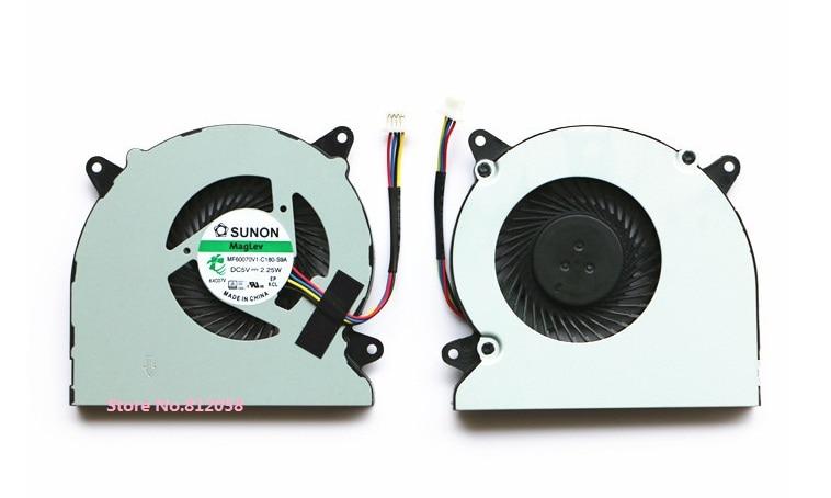 Ssea Новый Процессор вентилятор охлаждения для ASUS n550 n550j n550jv n550l N750 n750jk n750jv P/N mf60070v1-c180-s9a ноутбука