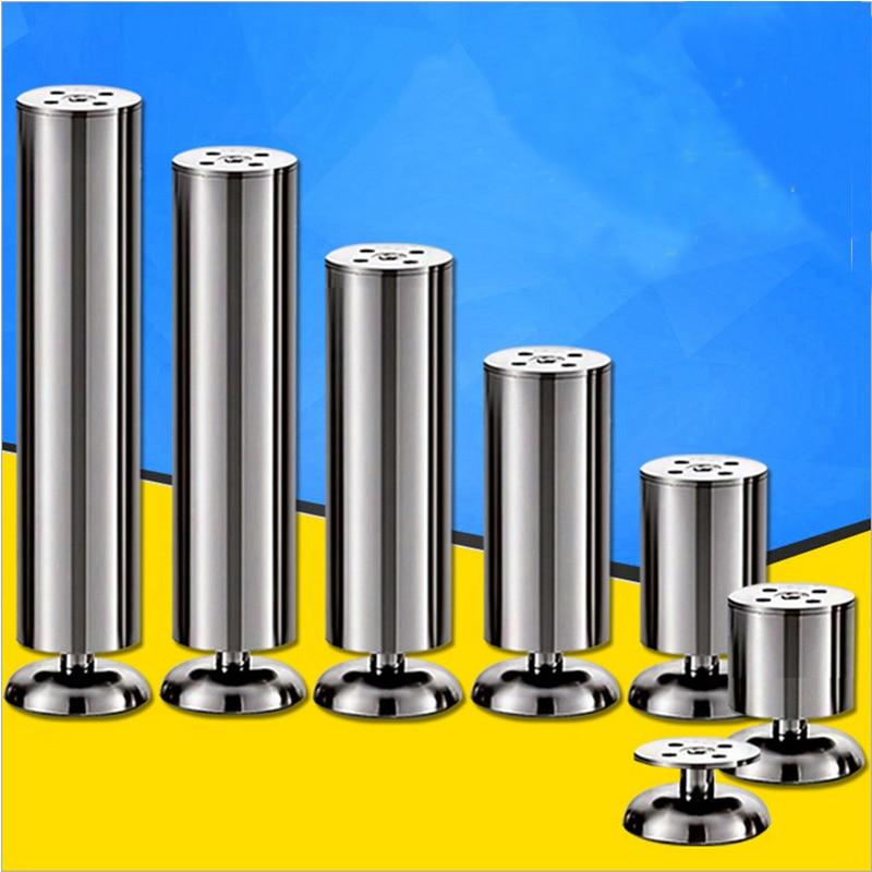 12/15/18/20cm Stainless Steel cabinet leg sofa leg Furniture Caster nobrand 55 984 12 0 leg
