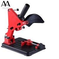 AMYAMY Polisher Stand Angle Grinder Stand Aluminum bracket lightweight support Holder for 100 115 125mm angle grinder cutting