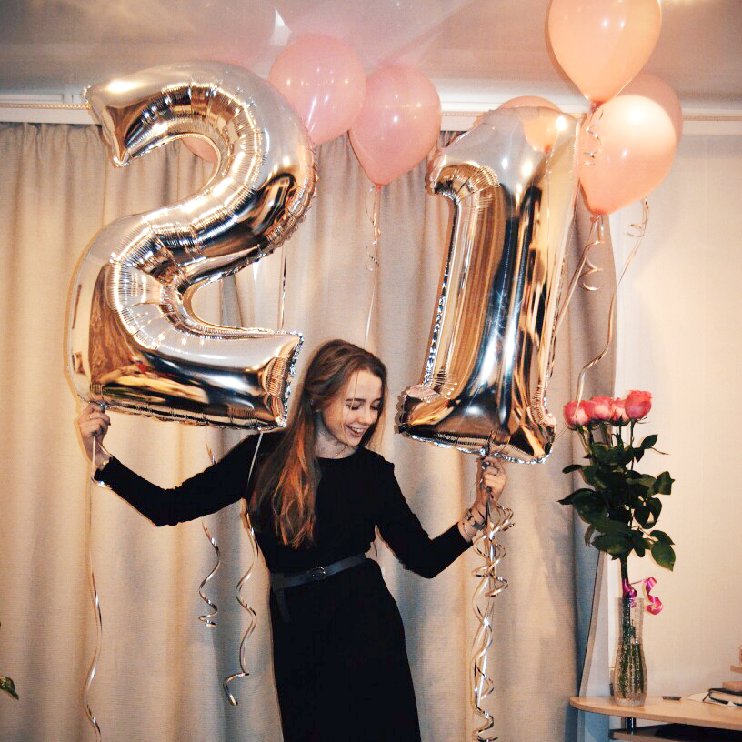 40inch 0-9 Large Number Foil Balloon Rose Gold Silver Helium Foil Ballons Happy Birthday Party Decoration Wedding Party Supplies