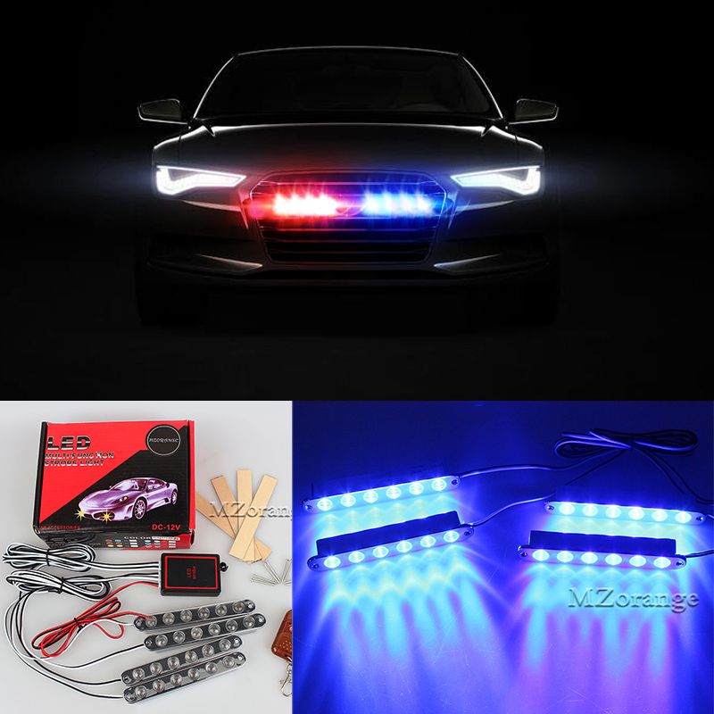 4x6 Aluminum Emergency Warning Light for all cars Police Flashing Light bar Grille Truck Beacon LED Side Lights strobe lights 4x6 12 led super bright 12v 24v led strobe emergency warning light police flashing lightbar grille truck beacon led side lights