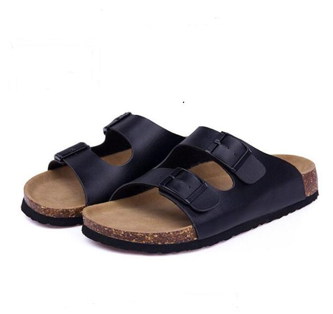 New in 2016 Women Slippers Cork Shoes Summer Beach Sandals Fashion Lovers Mixed Color Shoes Buckle Slides Plus Size 35-43 women sandals shoes summer fashion flip flops cartoon cute shoes beach slippers cork slippers sandals slides plus size 35 42