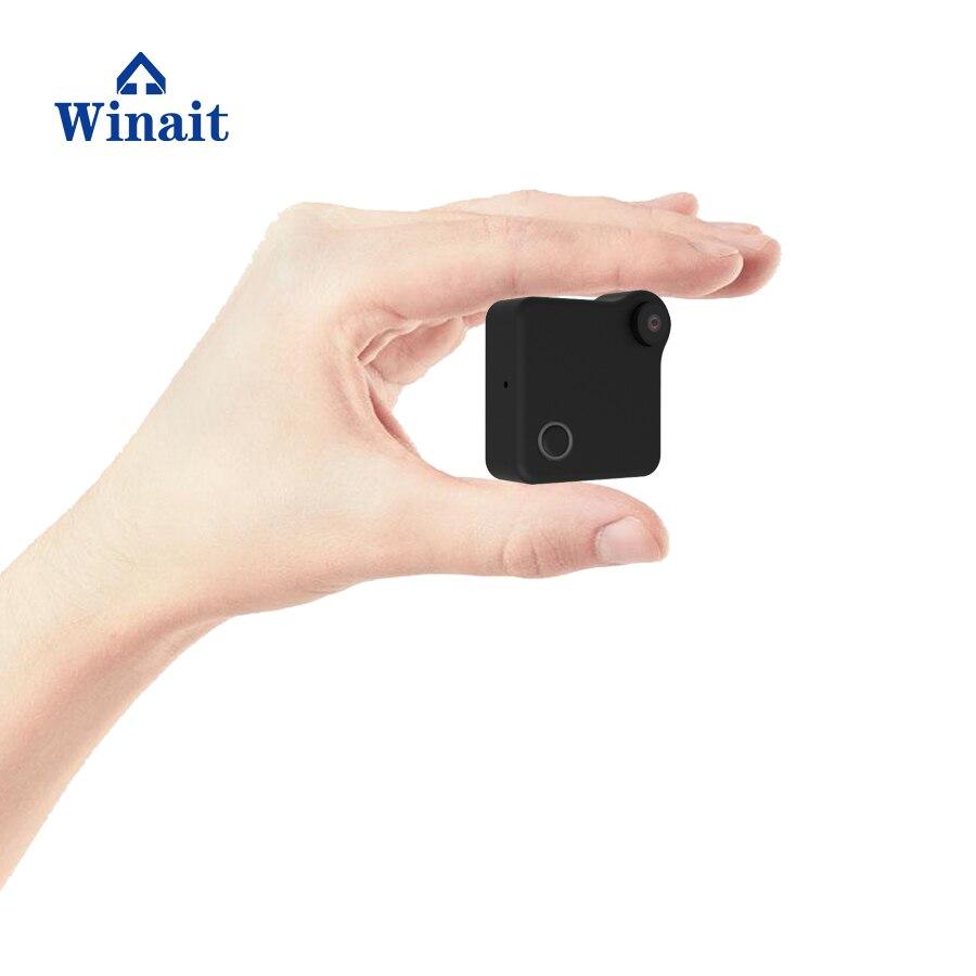 Winait Portable IP Camera P2P AP HD 1280*720 WIFI Cam Mini DVR Built-In 600mah Li-Ion Battery File Format JPG MP4 H.264