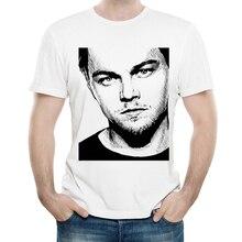 Leonardo T Shirt White Color Mens Fashion Short Sleeve T-shirt Tops Tees tshirt Casual
