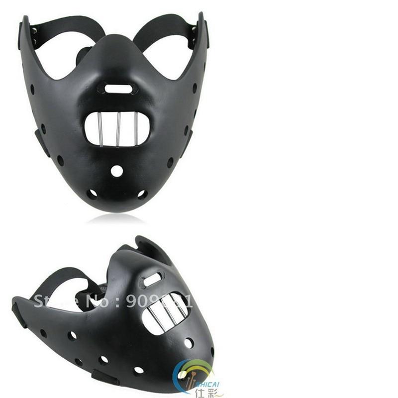 Filmfilm Tystnaden av lammen Hannibal Lecter Resin Masks Masquerade - Semester och fester - Foto 6