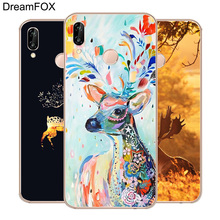 DREAMFOX M438 Cute Deer Soft TPU Silicone  Case Cover For Huawei Honor 6A 6C 7X 9 10 P20 Lite Pro P Smart 2019