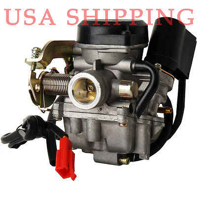 Detail Feedback Questions about Motorcycle Scooter Carb Carburetor